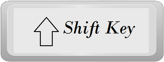 computer shift key inforamtionq