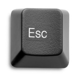 Escape key