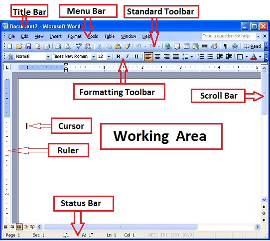 Microsoft Word 2003 tutorial - Introduction to MS Word ...