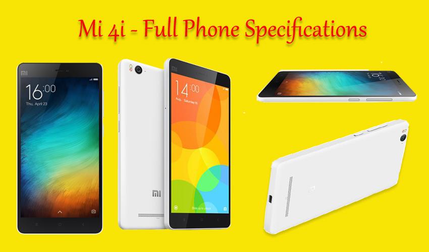Mi 4i - Full phone specifications