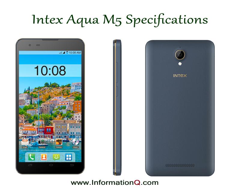 Intex Aqua M5 Price, Specifications, Features