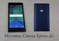 Micromax Canvas Xpress 4G phone