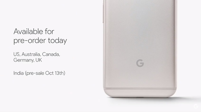 Google Pixel Phone Availble
