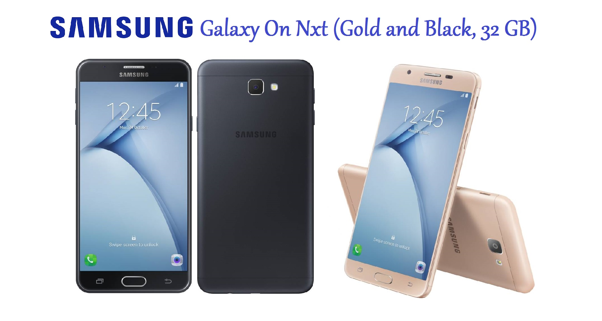 SAMSUNG Galaxy On Nxt (Gold and Black 32GB)