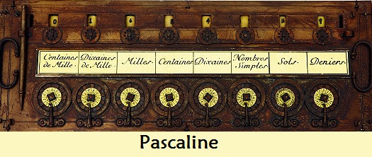 Pascaline - The first calculator