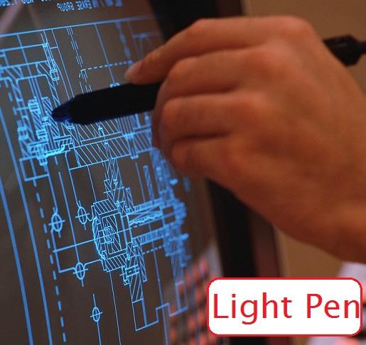 Computer Input Device Light Pen