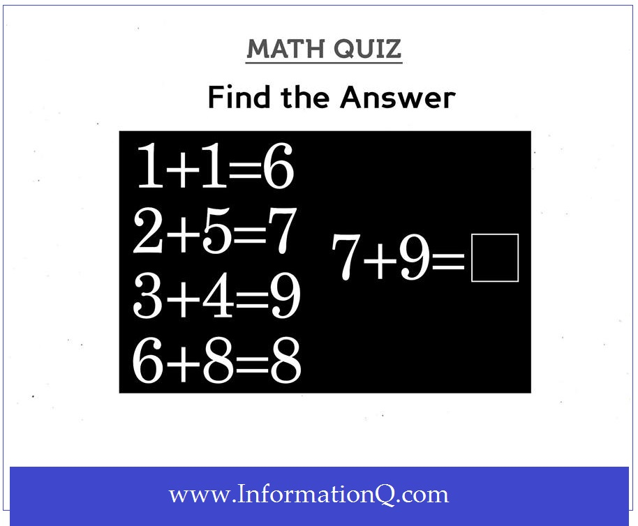 Simple Math Quiz for Kids | Math Questions And Answers ...