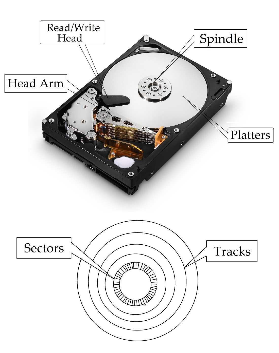 Computer Hard Disk Drive | Computer Memory Overview