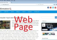 Definition of WebPage