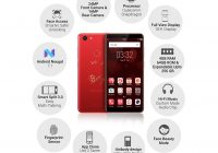 Vivo V7+(Infinite Red, 4GB + 64GB)