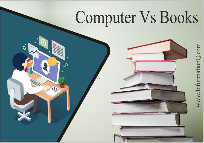 Uses of Computer and Books