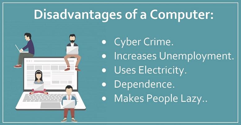 Disadvantages of a Computer